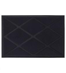 Rohož OKSBY 60x90 s plastickým reliéfem polyester/guma