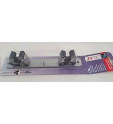Držák na smeták 3033-7 lišta 2+1,23cm chrom matný
