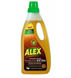 ALEX  EXTRA ochranný čistič na dřevo,parkety,podlahy a nábytek 750ml