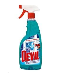 Dr.DEVIL čistící prostředek na sklo a okna 750 ml/12 s rozprašovačem