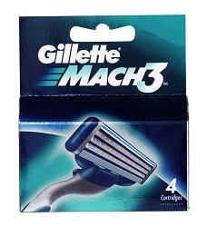 Gillette MACH3  náhradní hlavice 4ks