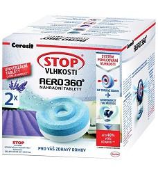 Ceresit AERO 360 tablety proti vlhkosti 2 kusy x 450g,2 druhy