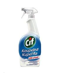 CIF Ultrafast čistič na koupelny 750ml /12 s rozprašovačem