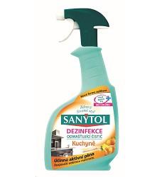SANYTOL dezinfekční odmašťující čistič kuchyně 500ml/12 s rozprašovačem