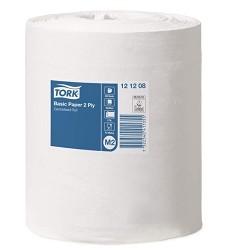 TORK 121208 universální utěrka 320 bílá se středovým odvíjením cena za karton, 2 vrstvy,