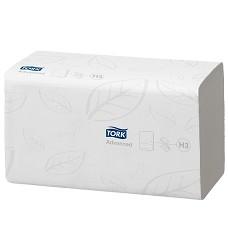 TORK 290163 Advanced papírový ručník ZZ (zigzag) bílý 2 vrstvy celulóza/recykl 3750 útržků