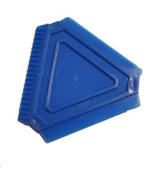Autoškrabka  na led trojúhelník 8x8x8cm PH mix barev
