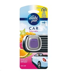 AMBI Pur Car Jaguar osvěžovač vzduchu do auta Fruity Tropics 2ml