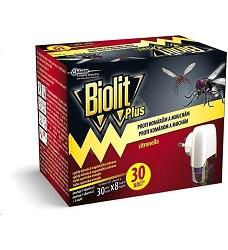 Biolit PLUS el.odpařovač s tek.náplní proti mouchám a komárům 31ml/ 30dnů