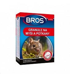 BROS granulát na myši a potkany 140g