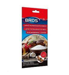 Bros mololapka na potravinové moly - závěsný i lepící pás 2 kus