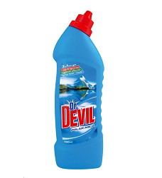 Dr.DEVIL WC čistič  750ml /16 POLAR AQUA 8908