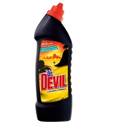 Dr.DEVIL WC čistič 750ml /16 LEMON FRESH 8910