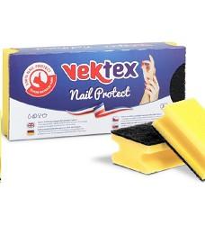 Houba na nádobí tvarovaná 3ks VEKTEX Nail protect 9,5x7x4,5cm