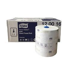 TORK 120016 MATIC COMFORT  papírové ručníky na roli 2 vrstvy TAD (cena za 6 rolí)
