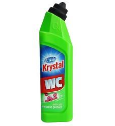 KRYSTAL WC kyselý čistič 750 ml/17 zelený na keramiku s ochranou