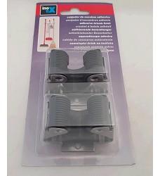 Držák na smeták 2055-7 matný chrom - 2kusy v balení