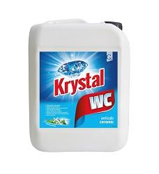 KRYSTAL 5l kyselý čistící prostředek na WC modrý