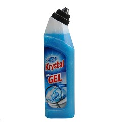 KRYSTAL WC  gel  750 ml/17 modrý