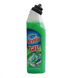 KRYSTAL WC  gel  750 ml/17 zelený