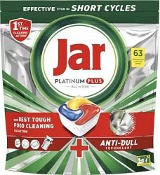JAR PLATINUM All in 1 - kapsle do myčky 63 kusů  939g