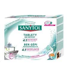 SANYTOL 4v1 tablety do myčky dezinfekční 40 kusů /5