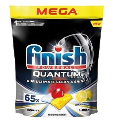 Finish powerball Quantum Tablety do myčky 65ks lemon