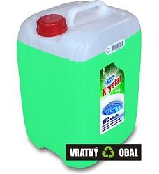 KRYSTAL 20l kyselý čistící prostředek na WC zelený včetně kanystru 100Kč