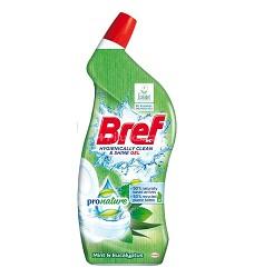 WC BREF gelový čistič 10x Anti Rust Citrus 700 ml/10