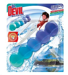 Dr.DEVIL BiCOLOR WC 5Ball   1kus x 35g/14 POLAR AQUA