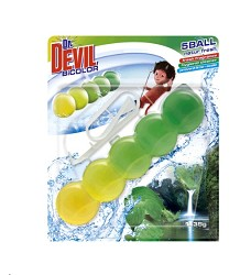 Dr.DEVIL BiCOLOR WC 5Ball   1kus x 35g/14 LEMON