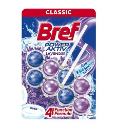 BREF WC Purple Aktiv 3x50 g Lavender zbarvení vody