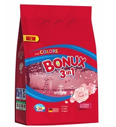 BONUX prací prášek 1,5 kg = 20 pracích dávek TROPICAL FRESH