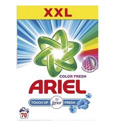 ARIEL prací prášek 5,25kg  TouchofLenor 70 pracích dávek