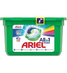 ARIEL gelové kapsle tříkomorové 14kusů COLOR