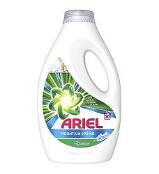 Ariel tekutý prací gel 1100 ml = 20 dávek MOUTAIN SPRING