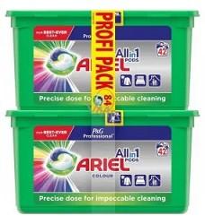 ARIEL gelové kapsle tříkomorové 84kusů  COLOR