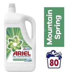 Ariel tekutý prací gel 80 dávek Moutain Spring