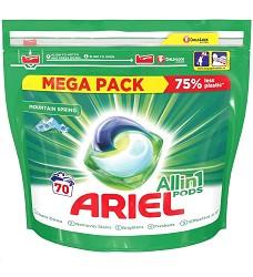 ARIEL gelové kapsle tříkomorové 70 kusů Mountain Spring