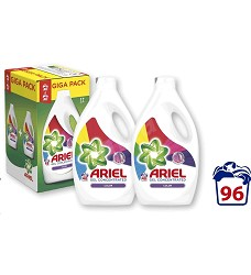 Ariel tekutý prací gel  2x2640ml = 96pracích  COLOR