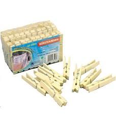 Kolíčky na prádlo dřevěné 50ks