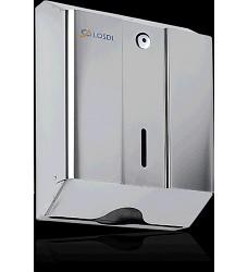 Zásobník na ručníky ZZ LOSDI matný nerez.330x265x120 kapacita 600 ručníků CO-0104