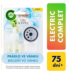 AIR WICK Electric komplet strojek+nápň 19ml Prádlo ve vánku