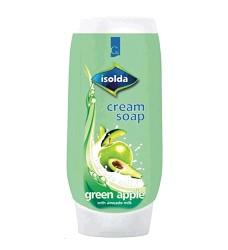 ISOLDA mýdlo tekuté krémové  500ml /15 zelené jablko