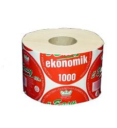 Toaletní papír EASY 1000 EKONOMIK bílý dvouvrstvý
