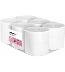 Toaletní papír HARMONY 1672 190 bílý 2 vrstvy 12 ks 100% celulóza