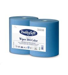 Průmyslová role BULKY SOFT WIPER 304 COLOR EVO - lepená 56330 2ks v balení