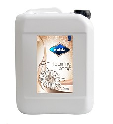 ISOLDA luxusní pěnové mýdlo bílé LUXURY 5l