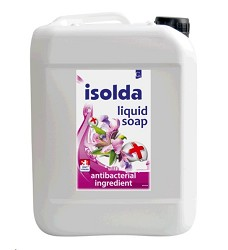 ISOLDA tekuté mýdlo s antibakteriální přísadou 5l