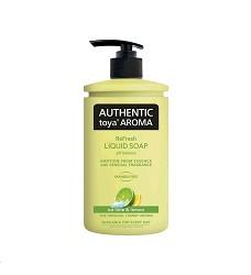 AUTHENTIC toya Aroma tekuté mýdlo 400ml /12 ice lime & lemon